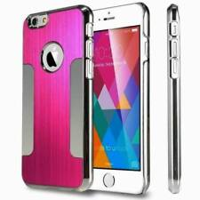 LUXURY BRUSHED ALUMINIUM Chrome HARD Case / Cover for Apple iPhone 4 4G 4S