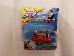 Thomas The Tank Engine Friends TAKE ALONG N PLAY STEPNEY TRAIN DIECAST NEW BOXED