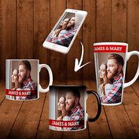 MUGS Personalised YOUR PHOTO Choose from Mug Magic Heat Large Latte Custom Tea
