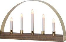 LED Arc à lumière à bougies éclairage pour fenêtres chandelier Suédois moderne
