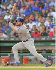 Daniel Murphy 2018 Action Chicago Cubs Authentic 8x10 Photo