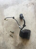 Green Machine 2500 String Trimmer Ignition Coil And Bolts OEM... G201