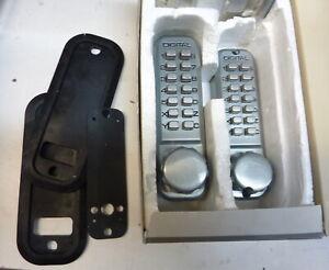 Lockey 2230 Mechanical Digital Door Lock SC NOS unused, Japan - heavy steel US