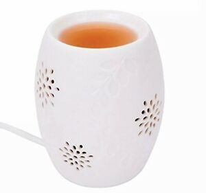 Tarts Warmer Wax Melt Burner Electric Aroma Burners White 12.5cm Free wax melts