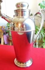 Silverplate Holloware Art Deco Martini Cocktail Shaker Pattern #3150 Crescent