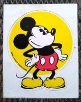 Rare Vintage 1970s Walt Disney World Productions Mickey Mouse Sticker