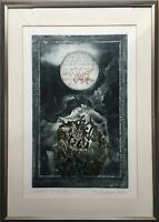 Jürgen Grenzemann Ploen Kiel Aquatinata Etching Lord of the Rings - to Tolkien