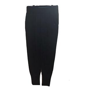 NIKE  Women's M Just Do It Dri-Fit Fold Over Waist Active Crop Joggers Black