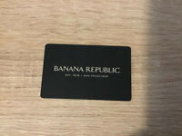 Banana Republic Gift Card $200 Value Only $180 FREE SHIPPING!!! #H1+