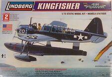 Lindberg 1/72 Kingfisher Float Plane Model Kit 70529 New
