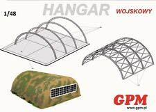 Military Hangar 1:48 scale  Model Kit   (LASERCUT SET)