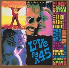 LOVE AND A .45 MOVIE SOUNDTRACK MAZZY STAR THE FLAMING LIPS JOHNNY CASH NEW CD