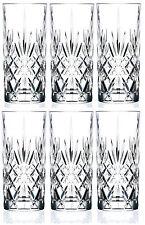 RCR MELODIA cristallo Hi sfera bicchieri Set di 6 (360ML) Acqua Succo Bicchieri