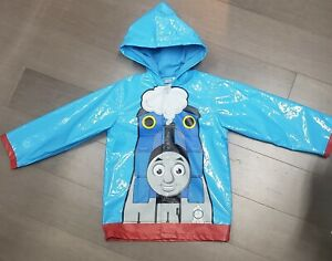 NWOT Thomas and Friends size 5 Toddler Raincoat