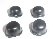 Lego Army Helmet x 4 Black for Minifigure
