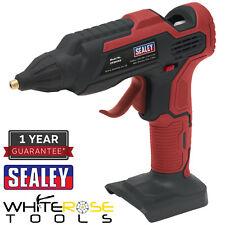 Sealey Cordless Colla Pistola 20V Corpo Only CP20V Colla a Caldo Adesivo Craft