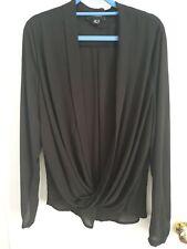 Size 16 Black Blouse Top