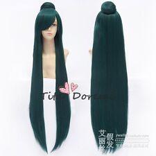 Halloween Wig Cosplay Sailor moon sailor pluto green long c/c clip fashion Hair