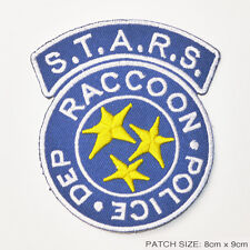 RESIDENT EVIL S.T.A.R.S. Raccoon City Police Patch - BLUE - STARS