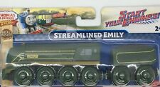 Thomas Wooden Railway NEW Streamlined Emily Racing Girl Train Set Engine Tender