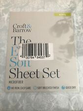 Croft And Barrow The Extra Soft Sheet Set King