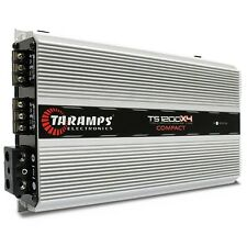 Taramp's TS-1200x4 COMPACT 1200w 1ohm New! Authorized Distributor