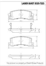 Disc Brake Pad Set-Disc Rear Pronto LCD325