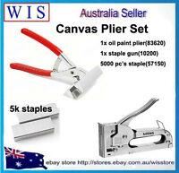 3 in 1 Canvas Stretching Kit,Canvas Stretching Kit with Regular Size Pliers
