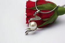 PS69 ELEVAGE eau douce bijoux avec perles pendentif sans collier chaîne