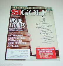 SI GOLF + ~ Sports Illustrated SI - PGA TOUR CONFIDENTIAL ISSUE ~ March 5, 2012