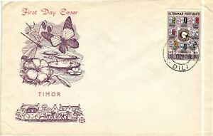 GP GOLDPATH: TIMOR COVER 1954 FIRST DAY COVER _CV678_P12