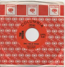 TIM HARDIN simple song of freedom*question of birth 1969 CAN COLUMBIA 45