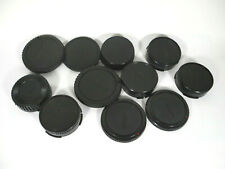 Lot of 12 Canon Body and Lens Caps