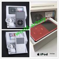 Latest Model Apple iPod Classic 7th Generation 160-512GB Black/Silver MP3 Player