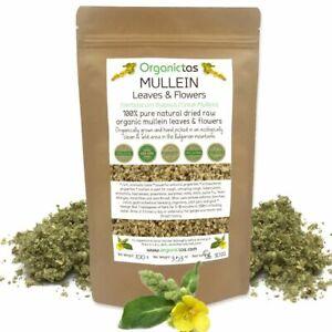 Mullein Leaf Tea Loose Organic Herb Premium Quality Herbal Verbascum Thapsus BIO