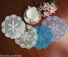 Unbranded Blue Crocheted Doilies