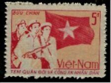 N.Vietnam MNH Sc M 43 Mi PFM 48 Value $ 2.00 US $ Military Frank