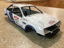 1/18 autoart ford sierra cosworth 12 carrosserie lhd modified tuning umbau diorama