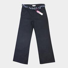 EX M&S PER UNA Womens Wide Leg Palazzo Trousers Casual Flared Cotton