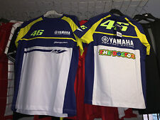 T-SHIRT MOTOGP 2015 OFFICIAL VALENTINO ROSSI DUAL YAMAHA MAN SIZES  XL-XXL