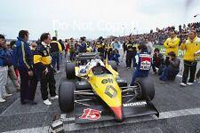 Alain Prost Renault RE40 Winner French Grand Prix 1983 Photograph 3