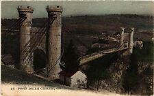 CPA   Pont de la Caille, 192 m  de Jongueil   (439540)
