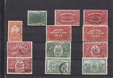 Canada Used1898-1946,#E1-E11 Special Delivery Set