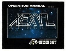 Xexyz NES by Hudson Soft Group Instruction Manual Booklet Made in Japan 1989