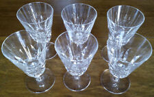 "Ensemble de 6 verres Saint-Louis - JERSEY - Paquebot "" France """