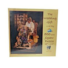 The Wedding Gift 500pc Jigsaw Puzzle by Les Ray.