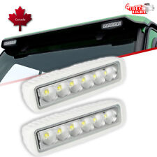 "Curtis Cabs John Deere Tractor Pair 36W 6"" LED Single Row Light Bar White Flood"