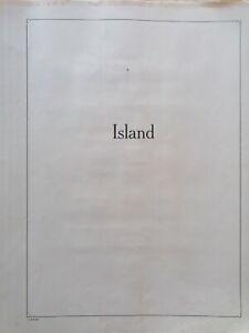 Island Sammlung ab 1882 gest.und Postfrisch Bilder in Beschreibung