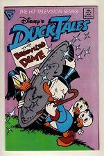 DuckTales #8 - August 1989 Gladstone - TV show - Uncle Scrooge - VFn/NM (9.0)