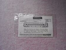 WALTHERS PASSENGER CAR DECAL HO GAUGE CANADIAN NATIONAL NEW IN PACKAGE